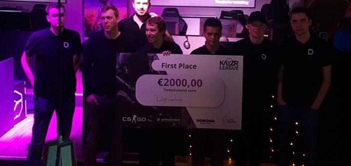 Winnaar Kayzr League 2017