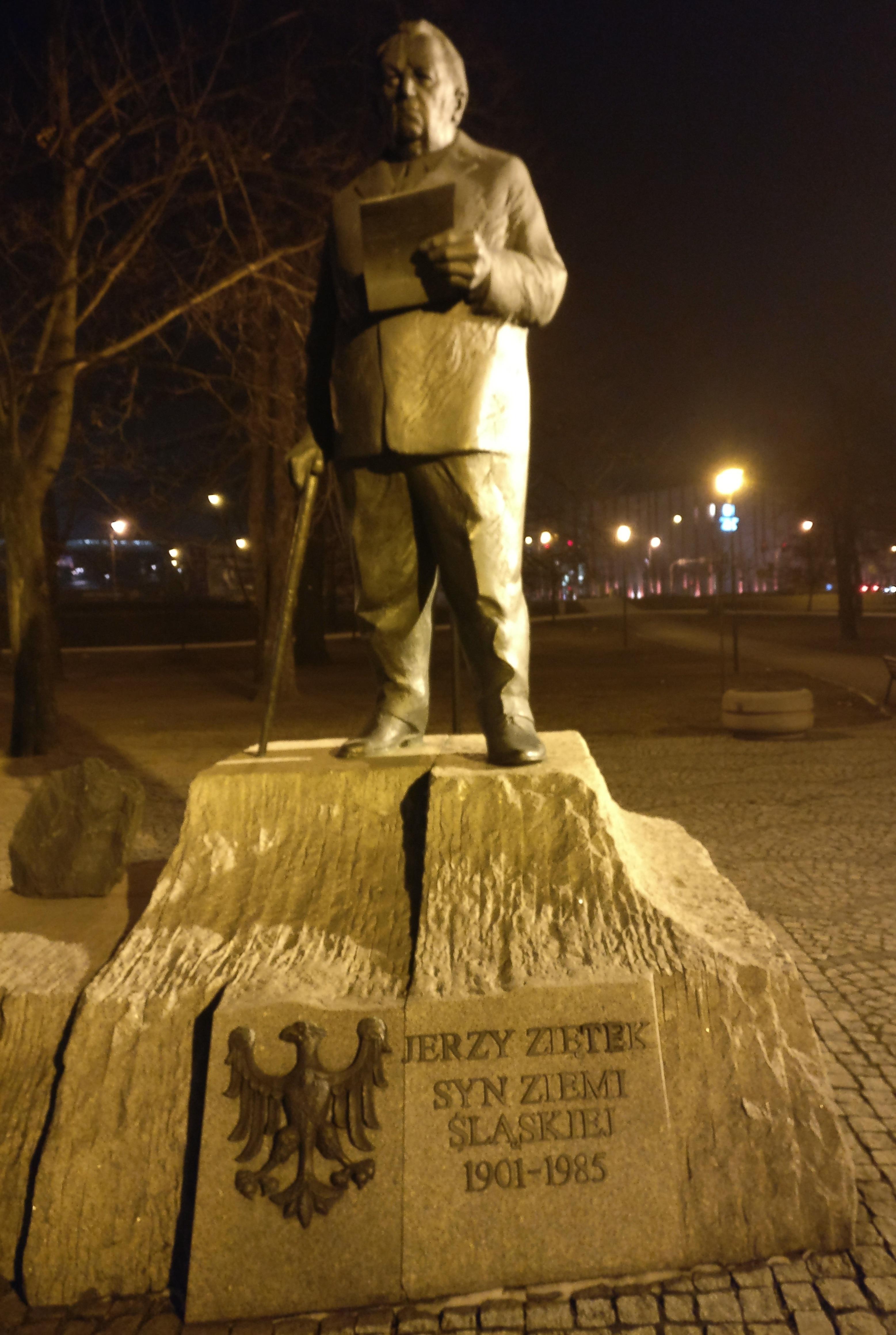 Jerzy Ziętek - Held en oud-gouverneur van Katowice