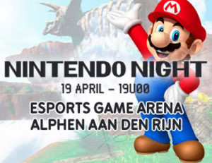 Game Mania met Nintendo Night in Esports Game Arena