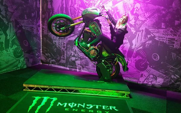254 Monster bike