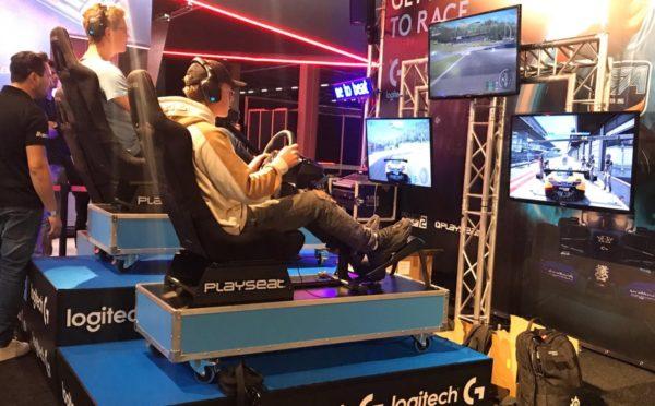 518 Logitech race ECV