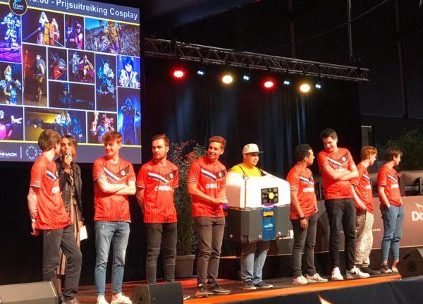 850 Prijs lan team