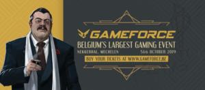 GameForce (grootste Belgische game event) dit weekend